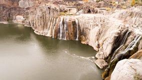 El Shoshone se cae barranco del noroeste de Idaho Estados Unidos el río Snake Fotografía de archivo libre de regalías