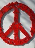El signo de la paz Foto de archivo libre de regalías