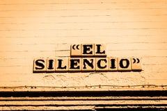 El Silencio Road Royalty Free Stock Images
