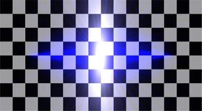 El sistema creativo abstracto del vector del concepto de efecto luminoso del resplandor protagoniza explosiones con las chispas a libre illustration