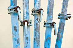 El sistema de abastecimiento del agua. Foto de archivo libre de regalías