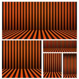 El sistema de fondo de Halloween rayó el sitio en naranja y negro Para su diseño, A-4, cartel, bandera, sitio web, ejemplo del ve Ilustración del Vector