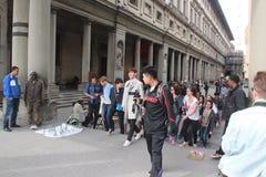 El sistema de la realidad de Florencia de China era es nosotros que iban, papá Fotos de archivo libres de regalías