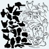 El sistema de muchos da en diversas fases ilustración del vector