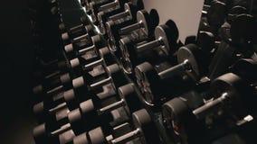 El sistema de pesas de gimnasia de diferente sizen metrajes