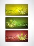 El sistema de tarjeta de la marijuana Fotografía de archivo libre de regalías