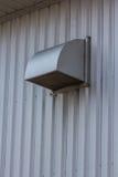 El sistema de ventilación de la fábrica imagenes de archivo