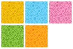 El sistema del fondo de la burbuja Imagen de archivo