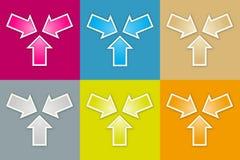 El sistema del icono de la reunión libre illustration