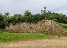 El sitio arqueológico de la civilización del Vinca, Belo Brdo Wh imagenes de archivo