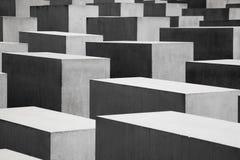 El sitio conmemorativo del holocausto en Berlín Imagen de archivo