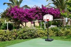 El sitio de la actividad del deporte en el hotel de lujo Imagen de archivo libre de regalías