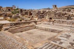 El sitio de Volubilis en Marruecos fotos de archivo libres de regalías