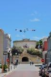 El sitio histórico de la casa redonda de la calle principal: Fremantle, Australia occidental Imagen de archivo libre de regalías
