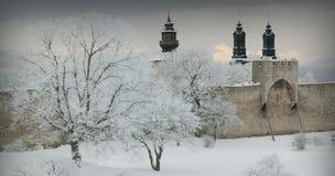 El sitio Visby.GN del patrimonio mundial de la UNESCO foto de archivo libre de regalías