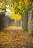 El sitio Visby.GN del patrimonio mundial de la UNESCO fotografía de archivo libre de regalías