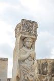 El sitio y las ruinas de Ephesus Fotografía de archivo libre de regalías