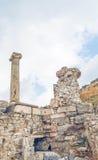 El sitio y las ruinas de Ephesus Foto de archivo