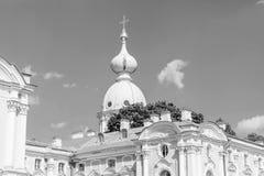 El Smolny Fotografía de archivo libre de regalías