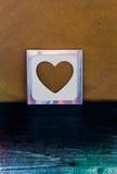 el sobre en tarjeta del día de San Valentín Imagen de archivo