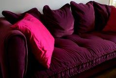 El sofá comfy Foto de archivo