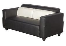El sofá negro dos se sienta para el resto Fotografía de archivo libre de regalías