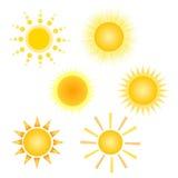 El sol Imágenes de archivo libres de regalías