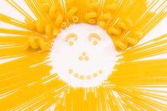 El sol de los macarrones Fotos de archivo