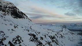 El sol de medianoche en el ártico almacen de metraje de vídeo
