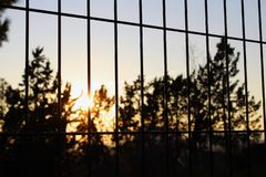 El sol estará libre imagen de archivo libre de regalías