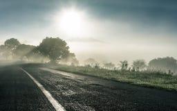 El sol naciente Fotos de archivo libres de regalías