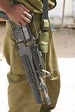 El soldado. Foto de archivo libre de regalías