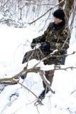 El soldado. Imagen de archivo