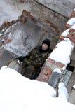 El soldado fotografía de archivo libre de regalías