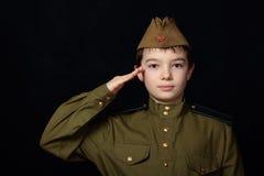 El soldado Foto de archivo