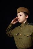 El soldado Imágenes de archivo libres de regalías