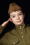 El soldado Fotos de archivo libres de regalías