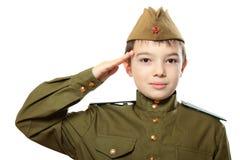 El soldado Imagen de archivo libre de regalías