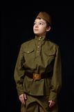 El soldado Fotos de archivo