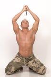 El soldado Imagenes de archivo