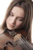 El solista joven Fotos de archivo