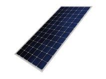 El solo panel fotovoltaico Foto de archivo libre de regalías