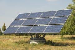 El solo panel solar industrial Imagen de archivo libre de regalías