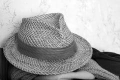 El sombrero de los hombres del verano Estilo exquisito fotografía de archivo