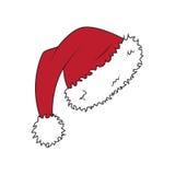 El sombrero de Papá Noel libre illustration