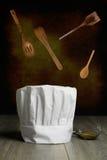 El sombrero del cocinero Foto de archivo libre de regalías