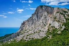El soporte Ai-Petri sobre el Mar Negro en Crimea imágenes de archivo libres de regalías