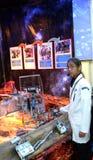 El soporte de Malasia en la olimpiada del robot en Sochi Fotografía de archivo libre de regalías
