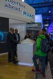 El soporte la compañía RUAG Ammotec Foto de archivo libre de regalías