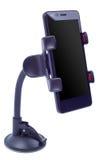 El soporte para coche para el smartphone Fotos de archivo